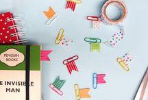 Washi tape - masking tape ideas