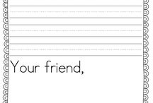 k - letters/pen pals