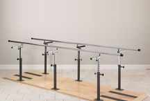 Parallel Bars / Parallel bars are a great way to get you or your client back in shape after an injury or medical condition. Check out this board for the most popular parallel bars on the market. You can also find different parallel bar exercises and movements to give you ideas on how to best utilize it.