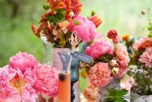 Wedding Center Pieces/Table decorations / by Nicole Saunders