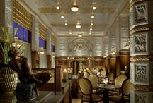 """The famous Café Imperial / Café Imperial has been the most famous and most popular """"Grand Cafe House"""" and restaurant in Prague for the past 100 years. Once frequented by the writer Franz Kafka, composer Leos Janacek and many other eminent guests."""