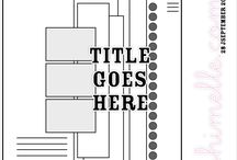 Scrap blank layouts / by Shawna Schmitz-Bradley