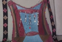 Kot-Deri Sırt Çantası--jeans leather backpack / Kot-Deri Sırt Çantası--jeans leather backpack
