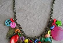 collares y pulseras con cerámica