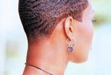 Hair / Short hair for black women