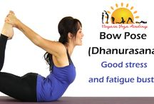 Good stress and fatigue buster Bow Pose
