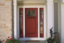 Entry Doors / We offer endless options to customize the entryway to your beautiful home.