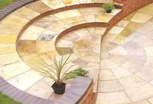 Circles / We are Manufacturing and exporting Rustic and all Circles tile for outdoor and indoor use , in all colours designs and finishes
