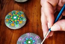 Craft ideas - Rock painting