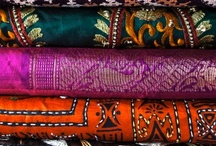 Textiles. Pattern. Colors.