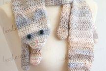 Crochet Scarves / Crochet scarf patterns