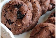 Biscuits triple chocolat aux biscuits Oréo