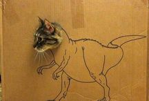 T-Rex-i-ness (and other Dinosaurs) / by Sally Patterson