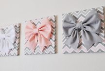 Baby pillow and baby nursery wall decor