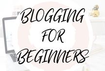 ♥︎ BLOGGING FOR BEGINNERS