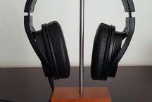 Headphone holder, stand