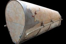 art painted coffin - luxury casket / Luxury painted coffin - linen on wood structure - inks, gouaches, oil protected by wax - silk handcrafted cushioning inside