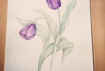 watercolours / colour is my life :-)