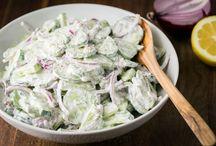 Recepten , salades