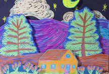 Art for kids / Art lesson ideas for elementary aged kids