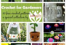crochet for garden