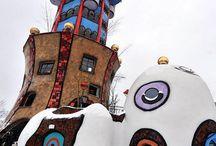 Hundertwasser házak