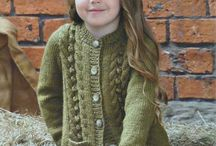 girls cardigans knitting