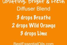 Oily Living - diffuser blends