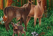 dieren in hun omgeving