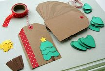 Christmas tags/ornaments / Tags til gaver - DIY
