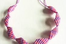 MACRAME /NECKLACE /M