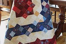 Quilts- Red, White & Blue