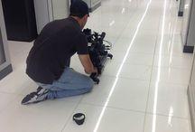 Riprese nel nostro Data Center - 2013 / Shooting tra i rack del nostro data center