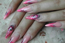 Stiletto, russian mandel and edge nails