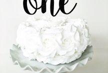Wild one birthday cakes