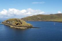 Skye / Ostrov Skye je nejsevernější ostrov Skotska