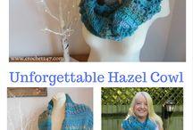 Cowls/Scarves-crochet