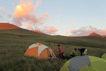 Drakensberg@ Sunrise/Sunset