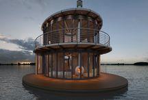 Nice houseboats - Schöne Hausboote