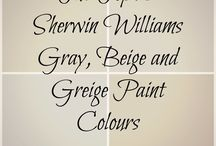 Paint Colors: Inspiration!
