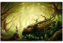 forest creatures