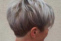 Frisuren grau