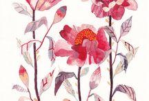 botanicals / Florals + Foliage + Nature + Botanical + Art / by Cece Merkle