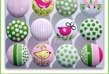 hand painted knobs for dresser draws