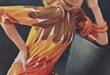Retro styl 1970 rok