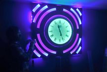 Light Art Creations / My own light art creations to add interest to your home or business