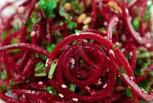 What to do with beets! / Creative ways to bring beets into your dinner. Trying something new is fun and adventuresome!
