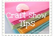 Craft Fair Booth ideas & tips / Craft Fair application tips & booth setup inspiration for a successful market experience!