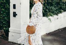 Spring Fever / Flirty Florals, Nautical Stripes, Basket Bags... a serious case of fashion spring fever
