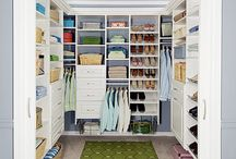 closet ideas / by Jane Scott